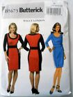 Butterick Pattern B 5673 Misses/Pet Maggie London  Fitted Dress 8-22 Uncut FF