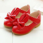 Girls Rabbit Sandals Princess Bowknot Toddler Kids Flower Soft Sole Shoes Size
