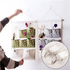 Wall Mounted 7 Pockets Hanging Storage Bag Pouch Socks Cosmetic Toy Sorting Bag