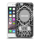 CUSTOM CUSTOMISED PERSONALISED BLACK LACES BACK CASE FOR APPLE iPHONE PHONES