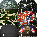 Motorcycle Sweatband Head Wrap Biker Skull Welder Cap Doo Rag Du Hat Do Bandana