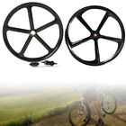 700c 5-Spoke Bicycle Wheel Rim Set  Front Rear Wheel Single Speed Fixie Gear Set