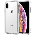 JETech Case for iPhone Xs and iPhone X Shock-Absorption Bumper Cover HD Clear