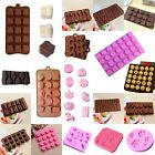 1pcs Silicone Chocolate Mold Cake Decorating Candy Cookies Baking Ice Cube Mould