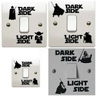 Star Wars Light Side Switch Decal Sticker Child Bedroom Room Home Decor Wall $0.99 CAD on eBay