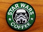 Star War Coffee Trooper Sign Badge Iron On Patches Embroidered Sewing Applique