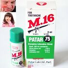M.16 TOOTHACHE First Aid Fast Pain Relief Clove Oil Tooth Kit Oral Anesthetic
