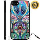 Psychedelic Alien Case For iPhone 6S 7 Plus Samsung Galaxy S7 Edge S8 Plus