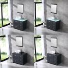 36 Modern Design Bathroom Vanity Cabinet Set w Ceramic Vessel Sink