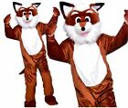 Adult DELUXE FOX Mascot World Book Week Fancy Dress Costume Outfit Unisex Animal