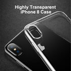 Baseus Slim TPU iPhone X Case Soft TPU Transparent Shockproof Back Cover Case