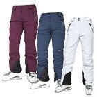 Trespass Galaya Womens Ski Pants Trousers for Snowboarding White Purple & Navy
