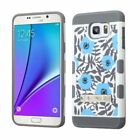 Hybrid Rubber Tuff Hard Protective Case Cover W/ Stand For Samsung Galaxy Note 5