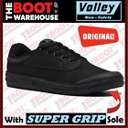Dunlop Volley Original Black Classics. Soft Toe. UK Fitting. SUPER GRIP SOLE