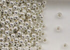 Sterling Silver 5mm Seamless Round Spacer Beads, Choice of Lot Size & Price