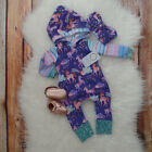 Unicorn Infant Baby Girl Boy Clothes Hoodies Jumpsuit Romper