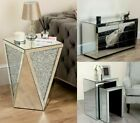 Mirrored Furniture Door Drawers Sideboard Cupboard Chest Cabinet Nest Of Tables