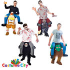 Adults Piggy Back Ride On Carry Rida Funny Halloween Fancy Dress Party Costume