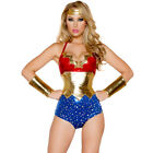 "NEW J VALENTINE Multi ""AMERICAN WOMAN"" Costume SIZE: S/M, M/L, L/XL - 55% OFF"