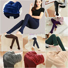 HOT WOMENS LADIES WINTER FLEECE THERMAL WARM STRETCHY THICK FULL LENGTH LEGGINGS