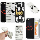 For Apple iPhone 8 & 8 PLUS TPU CANDY Gel Flexi Skin Case Phone Cover Halloween