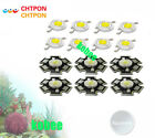 Hydroponics 1w/3w Full Spectrum white 400nm-840nm Led Grow Diodes for Plant Grow