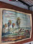 Antique Oil Painting, Roll, Valuable Picture with Signature, ACV or AEV ?