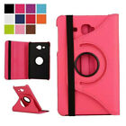 360° Rotating Leather Stand Swivel Fold Case Folio Cover For Samsung Galaxy Tab