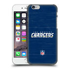 OFFICIAL NFL LOS ANGELES CHARGERS LOGO HARD BACK CASE FOR APPLE iPHONE PHONES