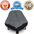 Fireplace Cover Durable Patio Stand-Up Firepit Outdoor Winter Storage Waterproof