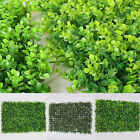 Artificial Boxwood Hedge Mat Indoor/Outdoor Home Decor Office Building Covering