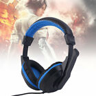 3.5mm Adjustable Gaming Headphones Stereo Noise-canceling Computer Headset TL