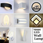 LED Wall Light Up Down Cube Sconce Lighting Modern Lamp Fixture Mount Room Decor