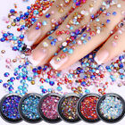 3D Design Chameleon Crystal Nail Art Rhinestones Charms Stud Decoration Manicure