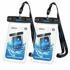 Waterproof Cases Mpow Universal Case, IPX8 Phone Pouch Dry Bag For Plus Samsung