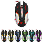 USB Wired Multicolor Backlit 6 Keys 5500DPI Optical Gaming Mouse for PC Mac Hot