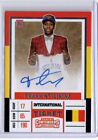Basketball Cards - FRANK NTILIKINA 201718 PANINI CONTENDERS DRAFT RC AUTO AUTOGRAPH ROOKIE