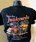 JUNKYARD RAMP TOW TRUCK T-SHIRT Hot Street Rat Rod Auto Car Ford Chevy Gift Junk
