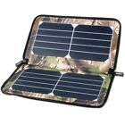 Folding Solar Panel USB Phone Charger Battery Pack, Camping Beach Hunting Travel