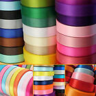 "22 Meters Reel Premium Quality Single Faced Sided Satin Ribbons 12mm 1/2"" Width"