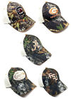 NCAA AUDIBLE MOSSY OAK CAMO MESH TRUCKER SNAPBACK HAT CAP ADJUSTABLE LOGO MASCOT