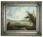 Robert An extensive landscape near Paris Wood Framed Canvas Print Repro 8x10