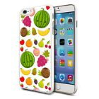 Mixed Fruits Design Hard Back Case Cover Skin For Various Phones