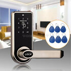 Digital Keyless Electronic Code Door Lock RFID Entry Secure Handle Intelligent
