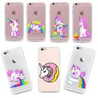 For Samsung Galaxy Fashion Unicorn Patterned Soft Silicone TPU Skin Case Phone