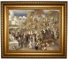 Renoir The Mosque 1881 Framed Canvas Print Repro 16x20