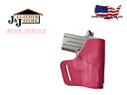 J&J PINK SERIES OWB BELT CARRY CUSTOM USA HAND FORMED PREMIUM LEATHER HOLSTER
