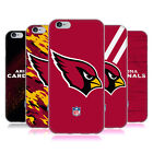 OFFICIAL NFL ARIZONA CARDINALS LOGO SOFT GEL CASE FOR APPLE iPHONE PHONES