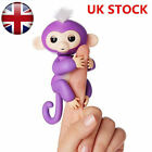 WowWee Fingerlings - Interactive Baby Monkey - Mia (Purple with White Hair)