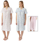 LADIES OPEN BACK POLY COTTON HOSPITAL/ INCONTINENCE NIGHTIE, NIGHTDRESS